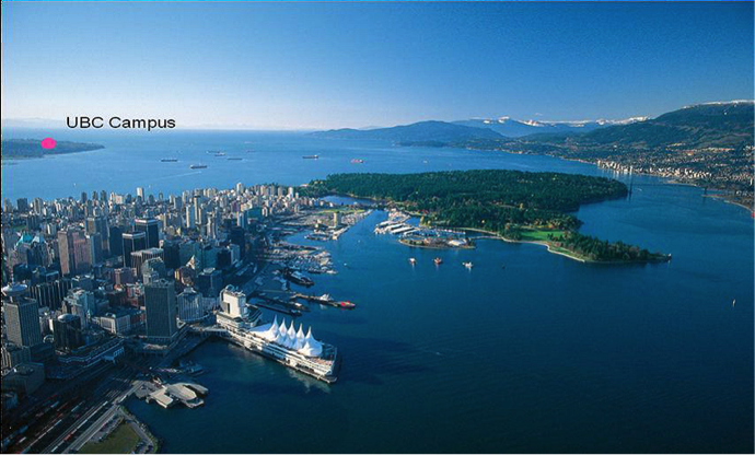 Vancouver and UBC